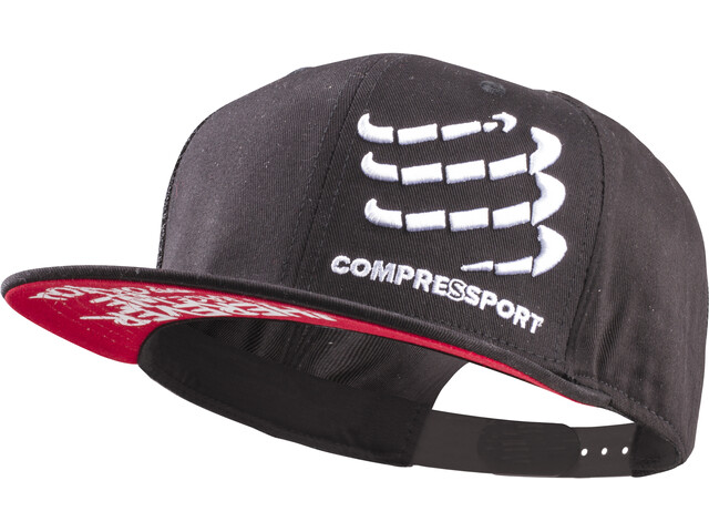 Compressport Flat Cap - Couvre-chef - noir